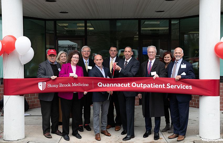 Quannacut Outpatient Services Ribbon Cutting Photo